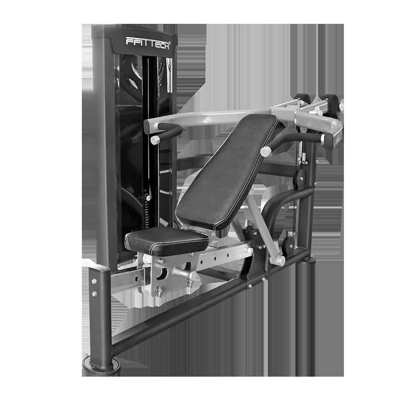 坐姿推胸/推肩训练器 (双功能)
